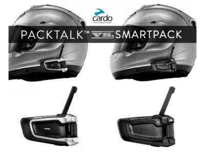 Отличие мотогарнитур Scala rider Packtalk и Smartpack