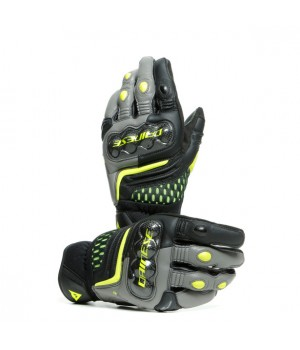 Перчатки Dainese Carbon 3 Short Black-Gray-Yellow