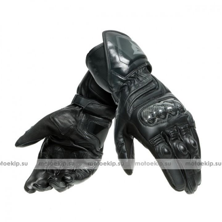 Перчатки Dainese Carbon 3 Long - Black-Black