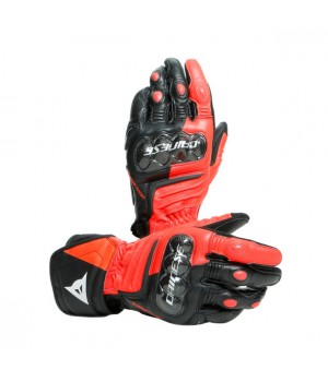 Перчатки Dainese Carbon 3 Long - Black-Red