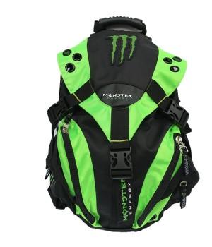 Рюкзак с логотипом Monster Energy