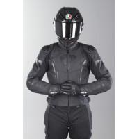 Мотокуртка кожаная Revit Glide - Черная
