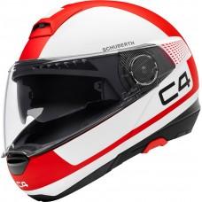 Шлем Schuberth C4 Legacy Red/White