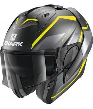 Шлем Shark Evo-ES Yari AYS Matt Anthracite Yellow