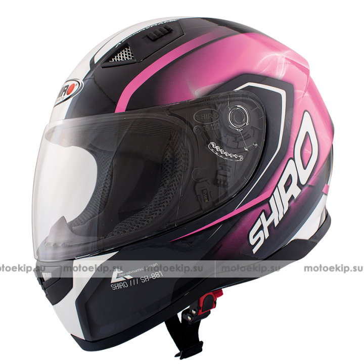 Шлем Shiro SH-881 Motegi Pink