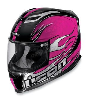 Шлем Icon Airframe CLAYMORE - Розовый