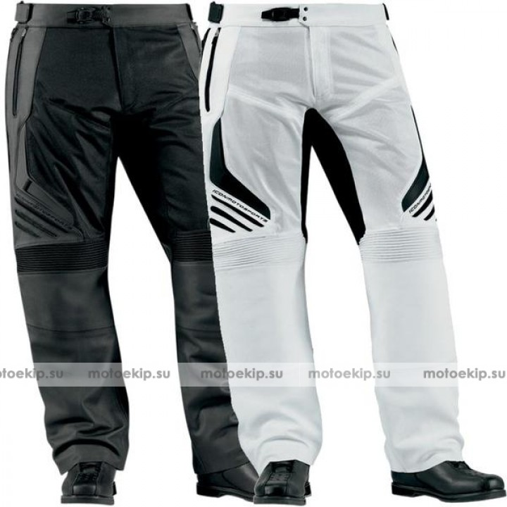 Мотоштаны Icon Compound Leather/Textile Overpant