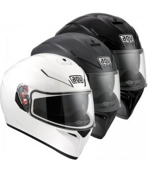 Шлем AGV K-3 SV Черный / Белый / Черный матовый