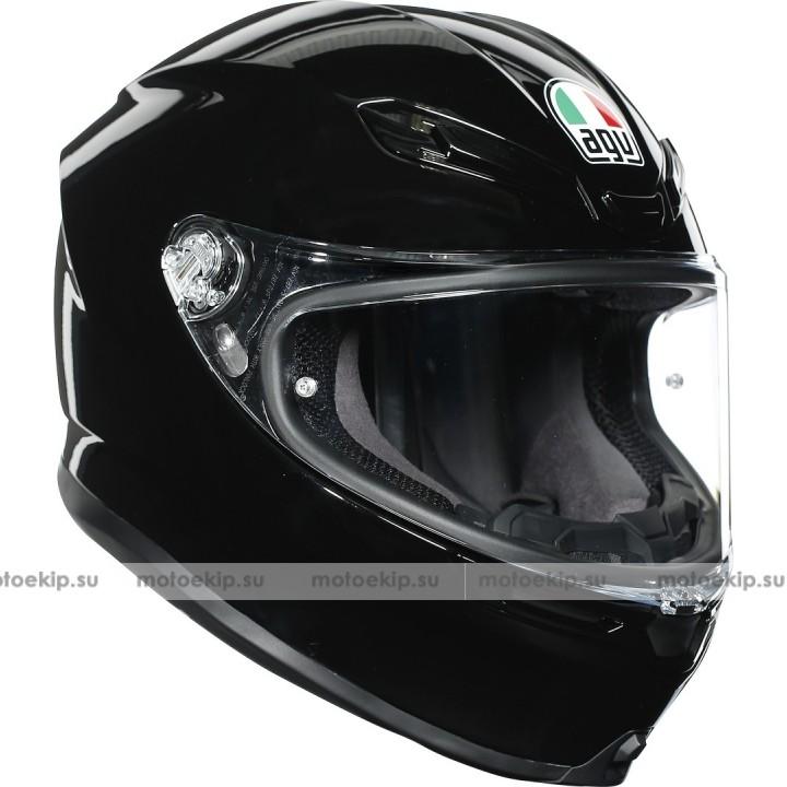 Шлем AGV K-6 Black