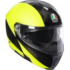 Шлем AGV Sportmodular Carbon HI-VIS