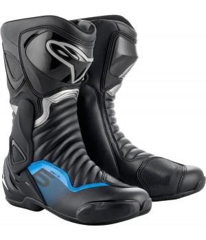 Ботинки Alpinestars SMX 6 v2 Black/Blue