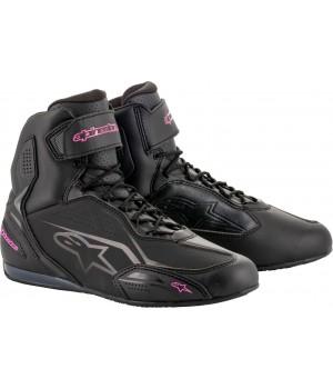 Мотоботы женские Alpinestars Stella Faster-3 Черный/Розовый