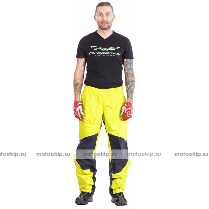 Мембранные штаны - дождевик Dragonfly EVO 2019 YELLOW