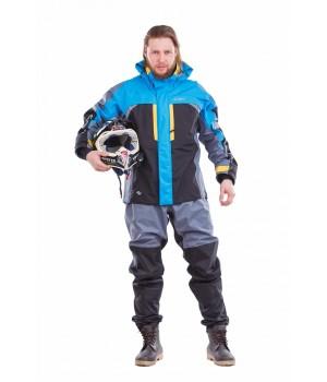 Мембранная куртка QUAD PRO ELECTRIC BLUE-GREY 2018