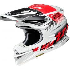 Шлем Shoei VFX-WR Zinger TC-1 черно-красно-белый