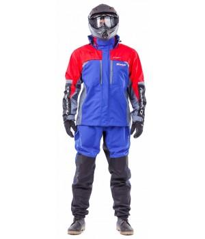Мембранная куртка QUAD PRO BLUE-RED 2018
