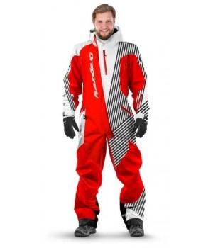 Комбинезон лыжный/сноубордический Dragonfly SKI Premium MAN RED&WHITE 2020
