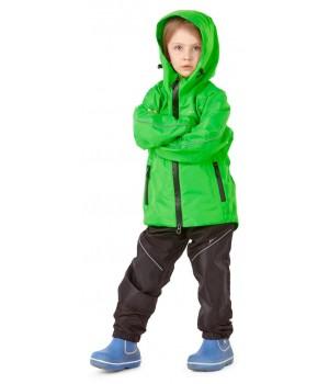 Детский мембранный дождевик EVO Kids GREEN (комплект)