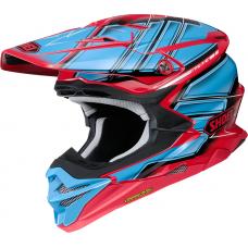 Шлем Shoei VFX-WR Glaive TC-1 сине-красный