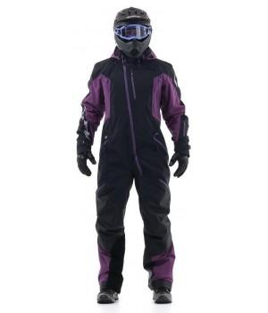 Комбинезон для снегохода и сноуборда Dragonfly Extreme Black-Purple 2020