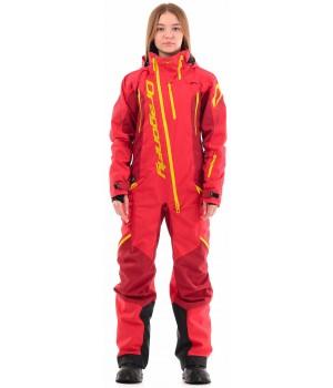 Комбинезон Dragonfly Extreme Woman Red-Yellow 2021