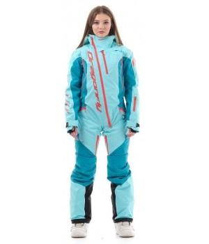 Комбинезон лыжный/сноубордический Dragonfly SKI Premium WOMAN BALTIC 2020