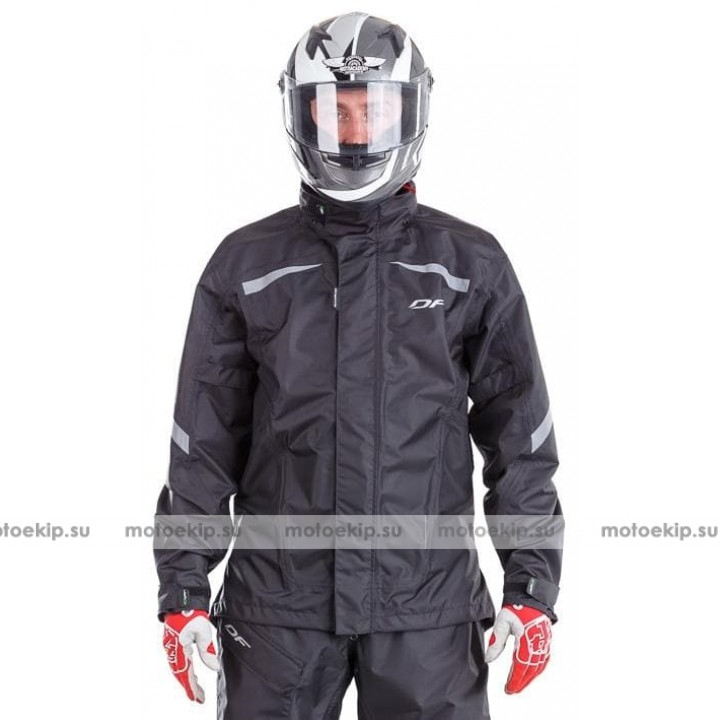 Мембранная куртка - дождевик Dragonfly EVO 2019 BLACK