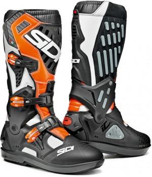 Ботинки кроссовые Sidi Atojo SRS Black/White/Orange