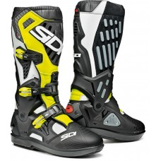 Ботинки кроссовые Sidi Atojo SRS Black/White/Yellow