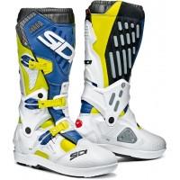 Ботинки кроссовые Sidi Atojo SRS White/Blue/Yellow