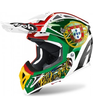 Шлем кроссовый Airoh Aviator 2.3 Six Days Portugal Limited Edition