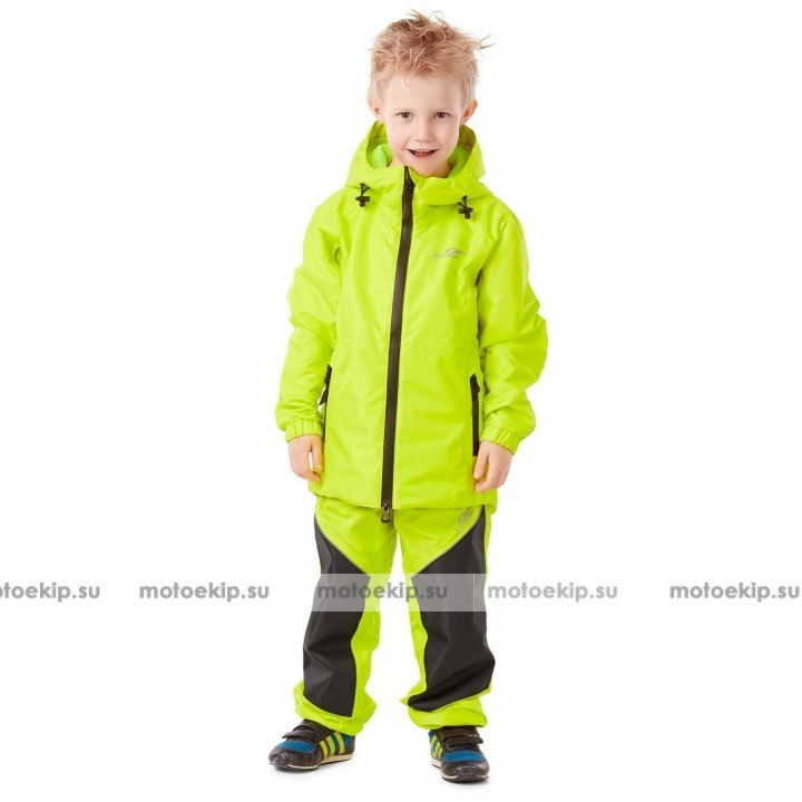 Детский мембранный дождевик EVO Kids YELLOW (комплект)