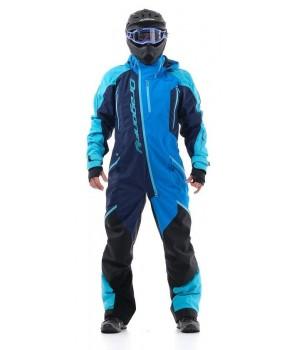 Комбинезон для снегохода и сноуборда Dragonfly Extreme Blue-Fluo 2020