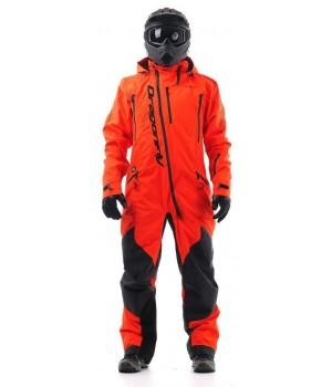 Комбинезон для снегохода и сноуборда Dragonfly Extreme Acid Orange 2020