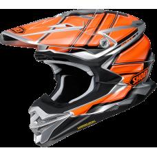 Шлем Shoei VFX-WR Glaive TC-8 серо-оранжевый