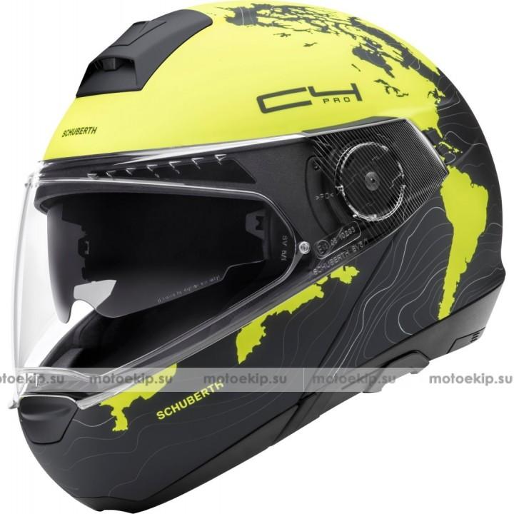 Шлем Schuberth C4 Pro Magnitudo Yellow (УЦЕНКА)