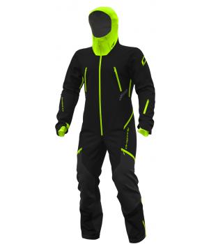 Комбинезон Dragonfly Extreme 2.0 MAN Black-Yellow-Green Fluo