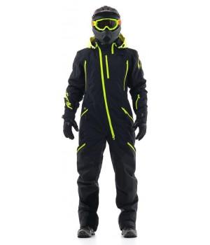 Комбинезон для снегохода и сноуборда Dragonfly Extreme Black-Yellow 2020