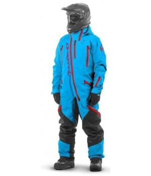 Комбинезон для снегохода и сноуборда Dragonfly Extreme Acid Blue 2020
