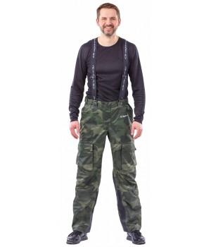 Мембранные брюки. QUAD CAMO 2018