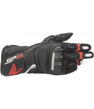 Мотоперчатки кожаные Alpinestars Honda SP-8 V2