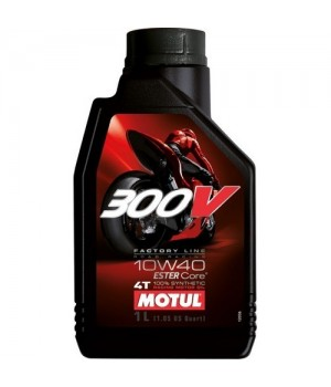 Моторное масло MOTUL 300V 4T FL ROAD RACING 10W40 1л 104118