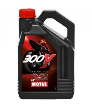 Моторное масло MOTUL 300V 4T FL ROAD RACING 15W50 4л 104129