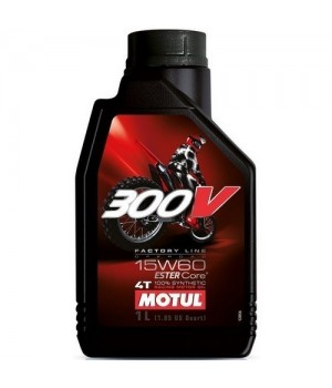 Моторное масло MOTUL 300V 4T OFF ROAD 15W60 1л 104137