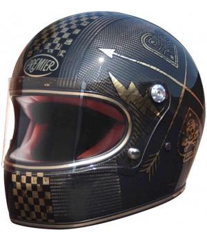 Premier Trophy Carbon NX Gold Chromed Шлем