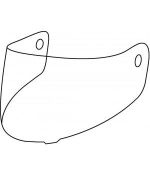 Визор AGV GT3-1 для Sportmodular (XXS-L)