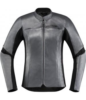 Куртка женская кожаная Icon Overlord