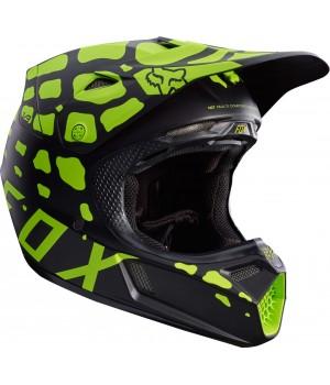 Шлем кроссовый Fox V3 Grav