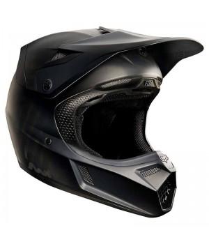 Шлем кроссовый FOX V3 Matte Black