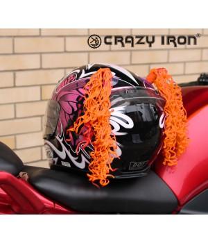 Косички на шлем оранжевые WAVE LIGHT